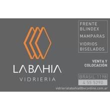 Logotipo Vidriería La Bahía