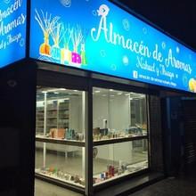 Logotipo Almacen De Aromas Nahuel Y Thiago