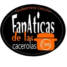 Logotipo FANATICAS DE LAS CACEROLAS ESSEN-Guillermina Cecchi