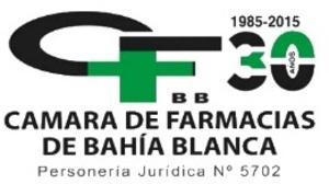 Logotipo Camara de farmacias de bahia blanca